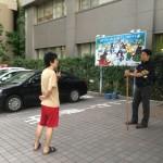 不当逮捕に対する抗議行動