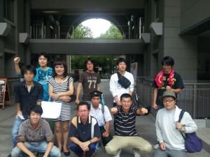 京都大学でも集会でA君奪還を訴えられたとのこと