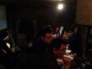 こちらは東池袋りべるたん1周年パーティー。当時運営者が展開していたコペルニクスというバーにておしゃれに祝います。