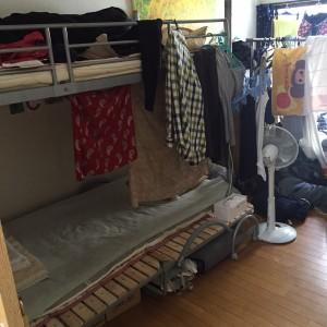 本邦初公開! これがりべるたんの寝室だよ。